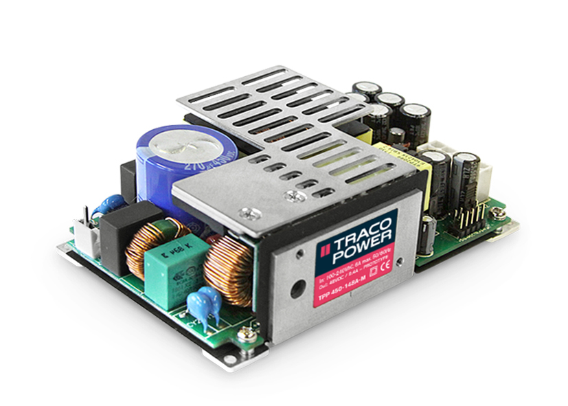 450 Watt AC/DC double I/O isolation system