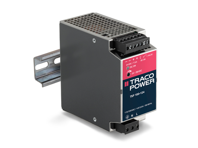 TSP series DIN-rail mount power supplies