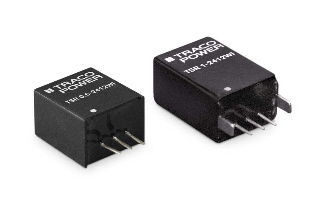 TSR-WI Series – New 0.6 and 1A POL converters Ultra wide 8:1 input